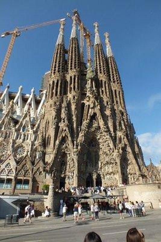 Sagrada Familia Basilica 1