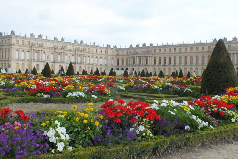 Versaille Palace and gardens