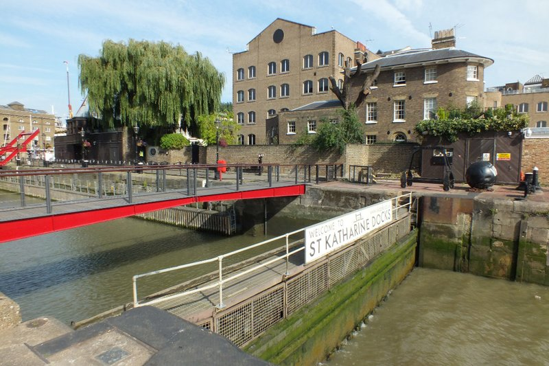 St Katharine Dock