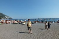 me on Positano beach