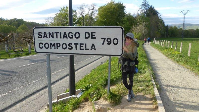 Compostela Signpost