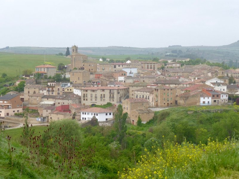 Village on the Camino