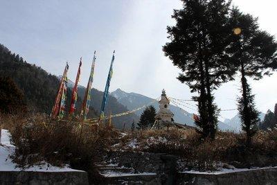 a tibetan stupa