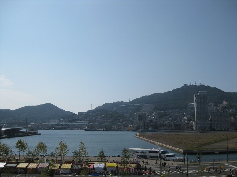 View from Nagasaki Hostel