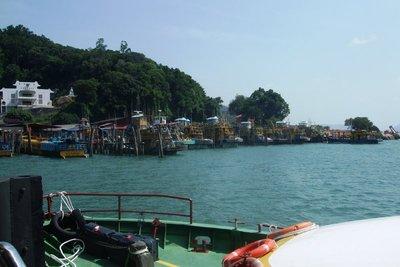 Fishing vessels at Pangkor Islands. 070713