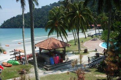 Pangkor Island Beach Resort - spectacular beach. 080713