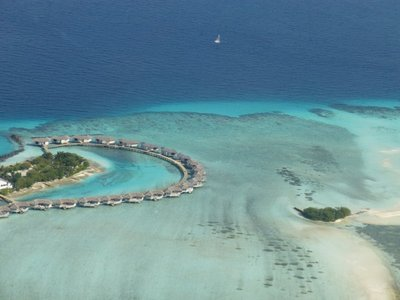 Resort in beautiful Maldives island