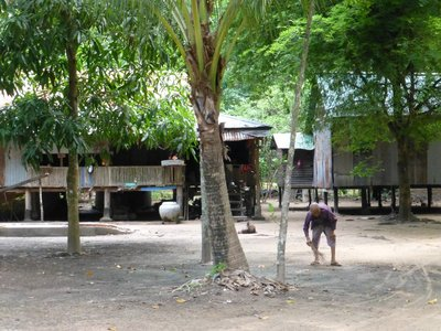 The Monastry sheltering old folk,s near the Bayon. Though old, they actively keep the place clean.