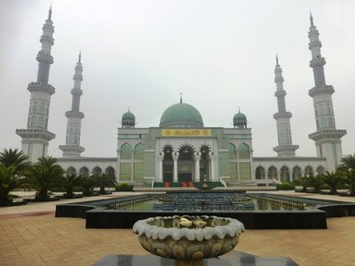 The magnificent Grand Mosque of Shadian, the biggest China.
