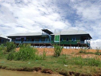 The school at Kampong Phluk