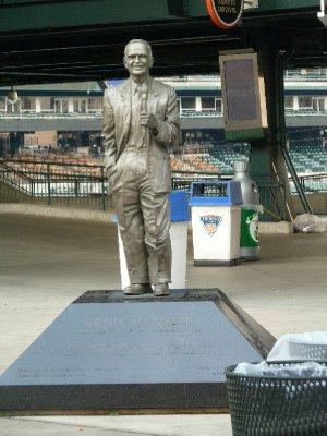 Ernie Harwell - Comerica Stadium - Detroit Tigers