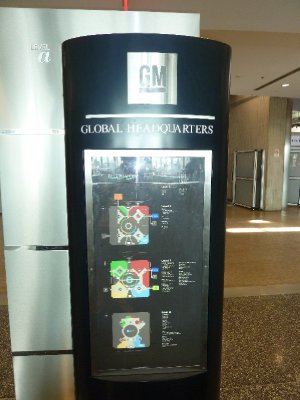 General Motors - Ren Center -Renaissance Center - Detroit Michigan (3)