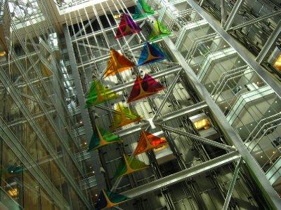 Inside Renaissance Center - Detroit