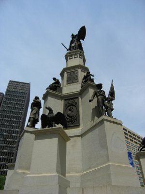 Sailors and Soldiers Monument - Detroit