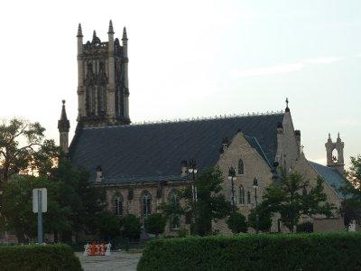 St. John's Church near Comerica Park in Detroit