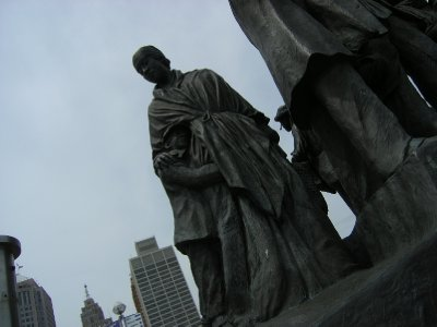 The Gateway to Freedom Memorial - Hart Plaza - Detroit (3)