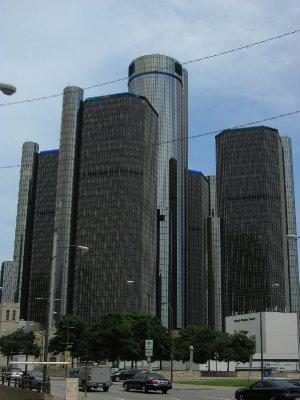 The General Motors Renaissance Center - Detroit