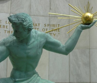 The Spirit of Detroit  (2) - Copy