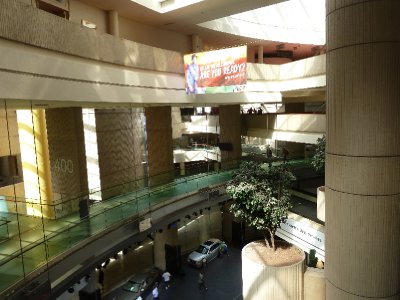 The empty tourist attration - Renaissance Center - Detroit (2)