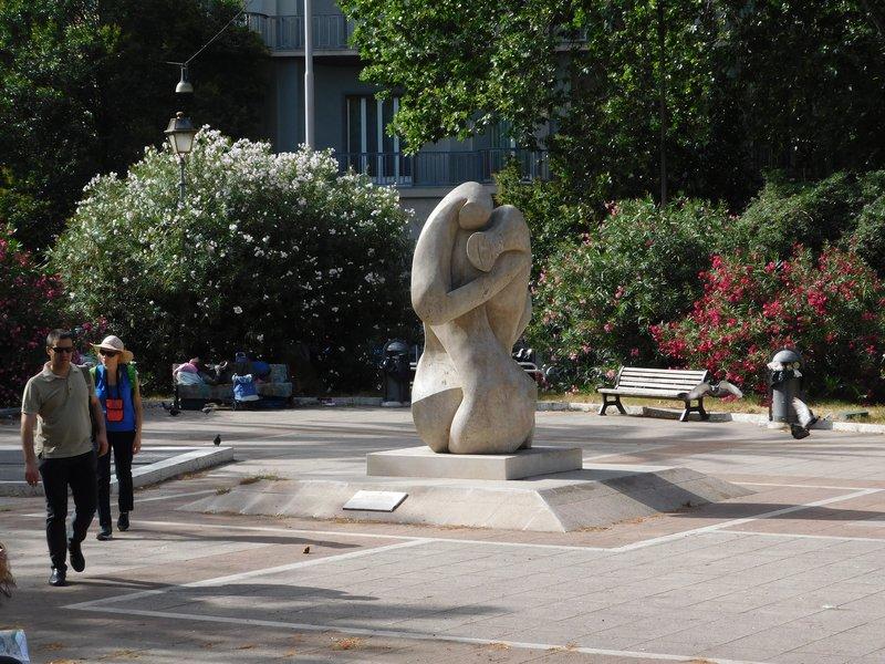 Piazza della Liberta  - Memorial to fallen service member  - Rome - July 2016 (5)