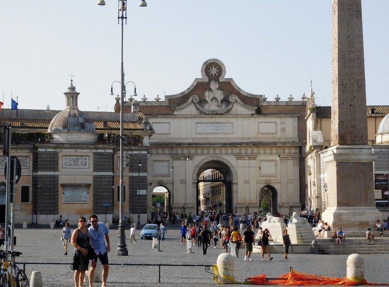 Porta del Popolo - Rome - July 2016 (2)