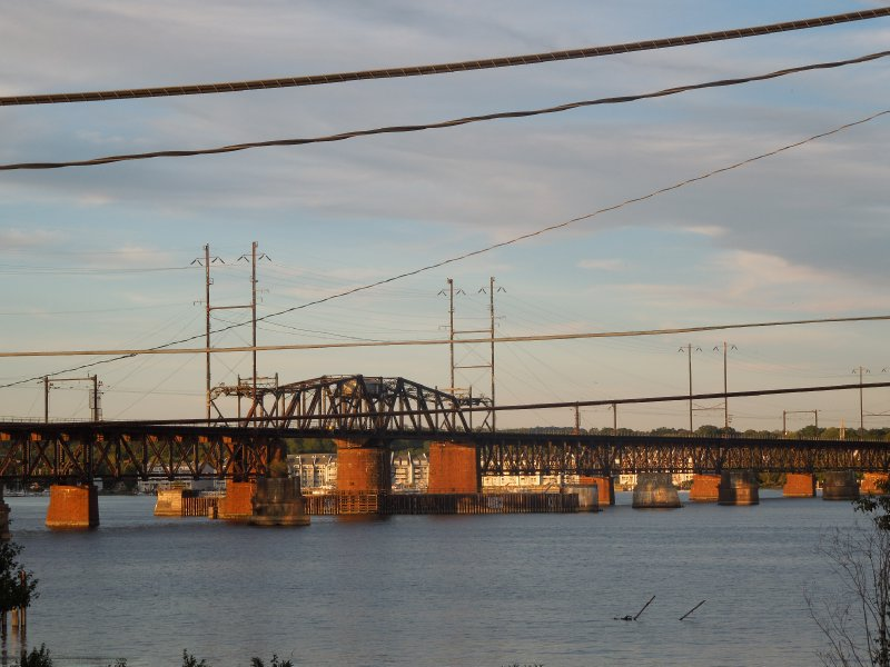 Railroad Bridge over the Susquehanna River - Havre de Grace (2)
