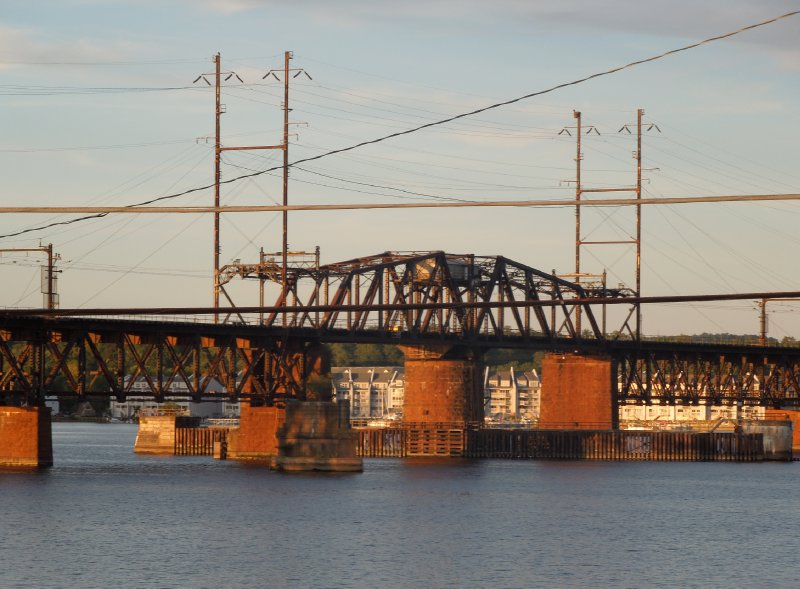 Railroad Bridge over the Susquehanna River - Havre de Grace (4)