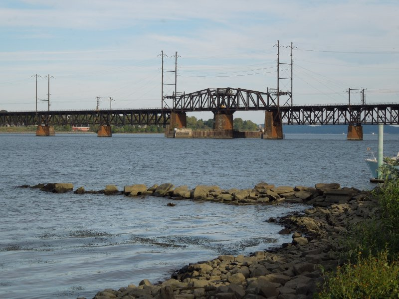 Railroad bridge over the Susquehanna River - Havre de Grace