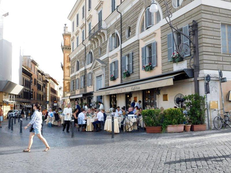 Via del Corso at Piazza del Popolo - Rome - July 2016 (2)