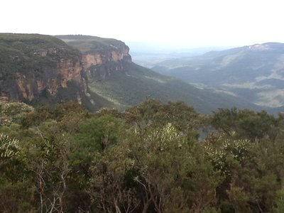 Tocht door de Blue mountains
