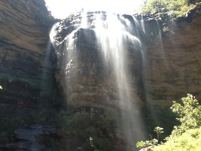 Waterval blue mountains diepste punt‏
