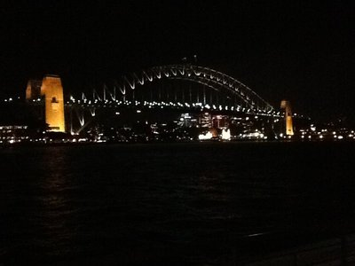 Habour bridge by night