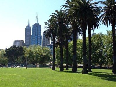Melbourne vanuit botanic garden