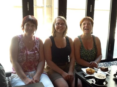 In de coffeeshop bij Hanne