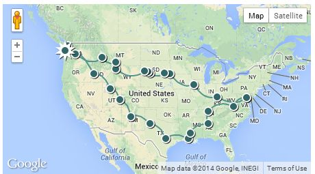 Chantal_and_Duncan_cross-country-trip-2012-map