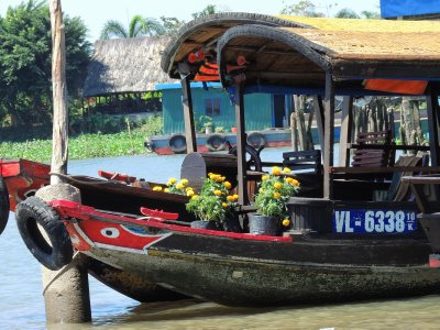 Mekong river tour - boat