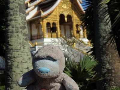 The Wat at the Luang Prabang Palace Museum