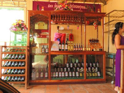 The Cambodian winery