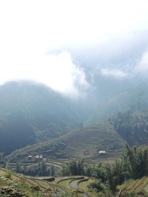Walk down to Cat Cat village near Sapa
