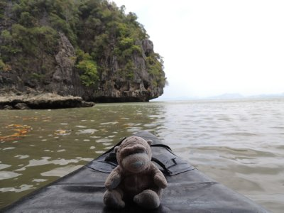 James Bond Island Day Trip - Patch enjoying some sea kayaking