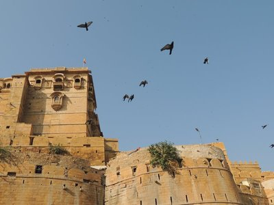 Outside Jaisalmer Fort