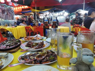 Dinner in Chinatown