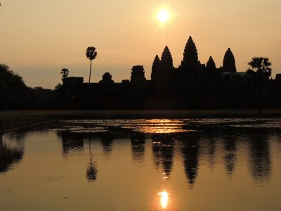 Sunrise at Angkor Wat