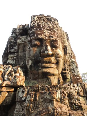 The faces of The Bayon, Angkor Thom