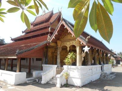 A wat in Luang Prabang