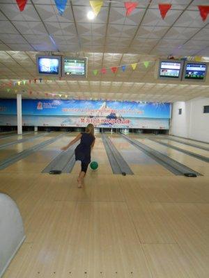 Tam's bowling skills