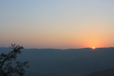 Sunrise over Pushkar