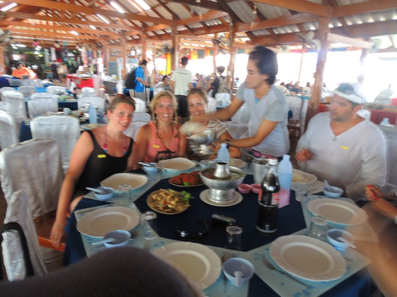 James Bond Island Day Trip - lunch on muslim floating village