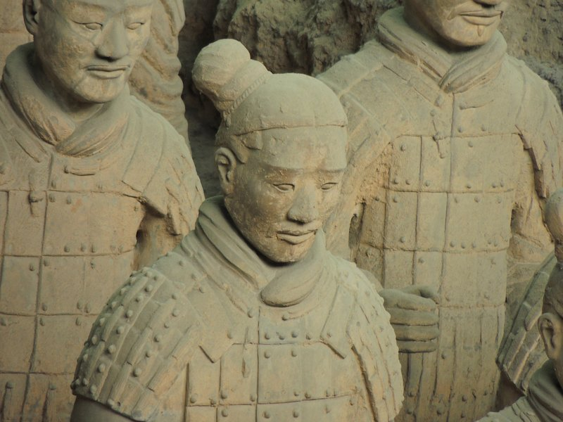 Terracotta Warriors - close up!