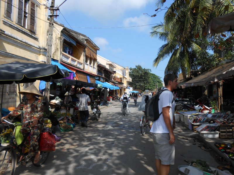 The streets of Hoi An